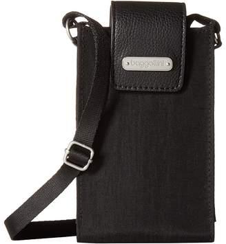 Baggallini New Classic RFID Phone Crossbody Cross Body Handbags