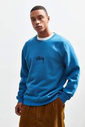 Stussy Embroidered Logo Crew-Neck Sweatshirt