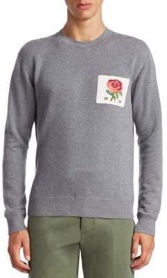 Kent & Curwen Flexford Rose Crewneck Sweater