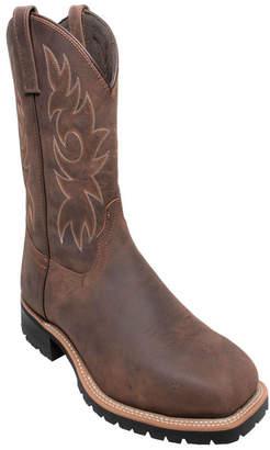 "AdTec Men 12"" Steel Toe Work Western Boot Men Shoes"
