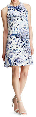 Lauren Ralph Lauren Oversized Paisley A-Line Dress