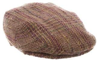 Etro Lambswool Newsboy Hat