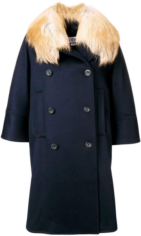oversized loose coat