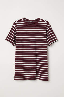 H&M Cotton Pique T-shirt - Pink