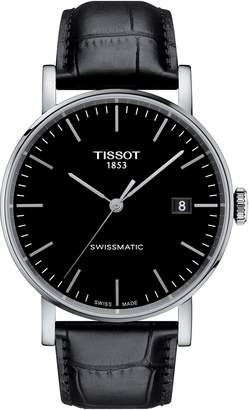Tissot Everytime Swissmatic Leather Strap Watch, 40mm