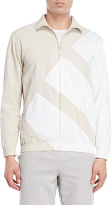 adidas Clear Brown Equipment Mesh Logo Jacket