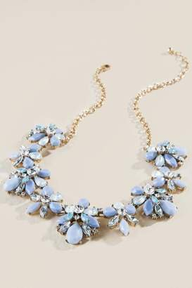 francesca's Allegra Statement Necklace - Periwinkle