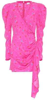 Magda Butrym Carlton floral silk minidress