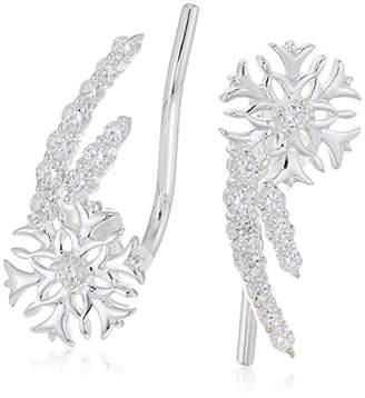 0e7dae0e5 Michael Kors Chamilia Snowflake Climber Earrings - Swarovski Zirconia  Earrings