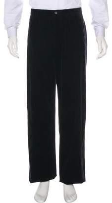 Giorgio Armani Corduroy Flat Front Pants w/ Tags