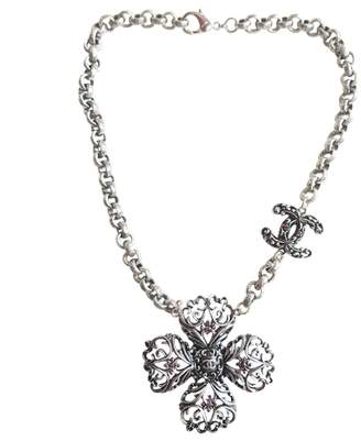 Chanel Anthracite Steel Necklace