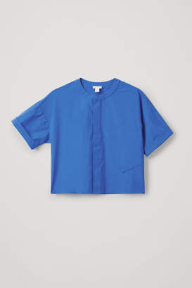 Cos RELAXED SHIRT WITH SLANTED POCKET