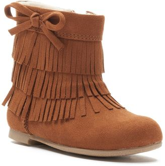 Jumping Beans® Toddler Girls' Fringe Boots $44.99 thestylecure.com