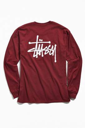 Stussy Basic Long Sleeve Tee
