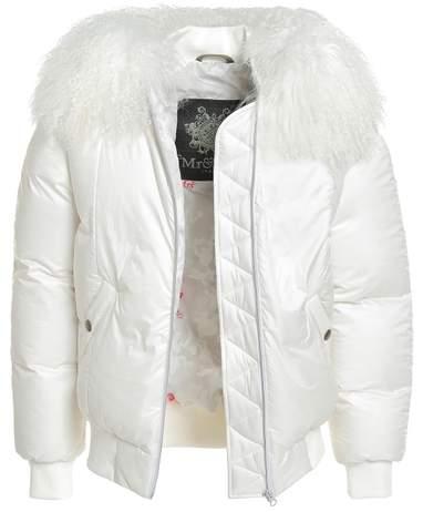Armstrong Classic Bomber Superlight Nylon Camou Mongolia Fur
