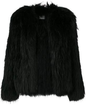 Yves Salomon Meteo fur vest coat