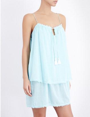 Heidi Klein Santa barbara layered cotton dress $189 thestylecure.com