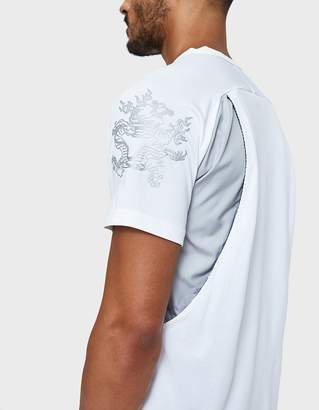 adidas X Kolor Climachill Tee in White