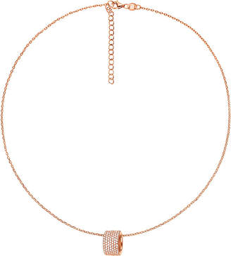Folli Follie Fashionably rose gold-plated ball necklace