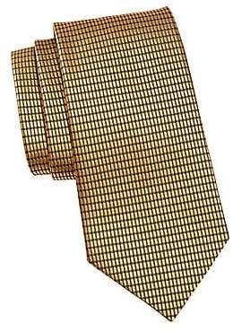 Ermenegildo Zegna Men's Net Jacquard Silk Tie