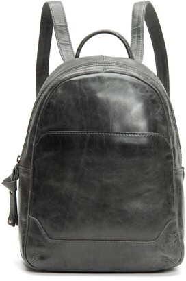 Frye Medium Melissa Calfskin Leather Backpack