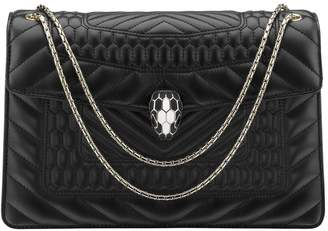 Bvlgari Quilted Serpenti Forever Shoulder Bag