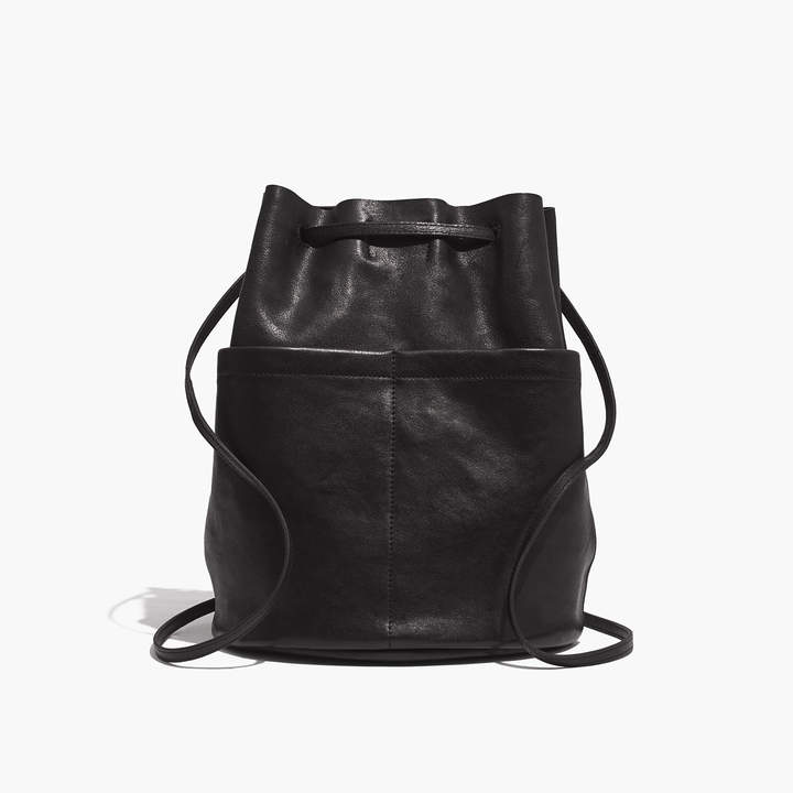 The Convertible Leather Backpack