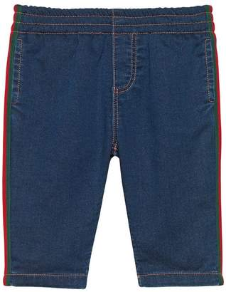 Gucci Kids Web detail shorts