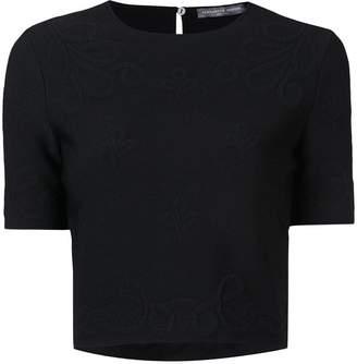 Alexander McQueen cropped T-shirt