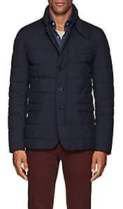 Herno Men's Down-Quilted Blazer Jacket - Blue