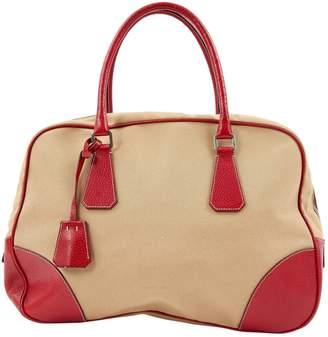 Prada Cloth bowling bag