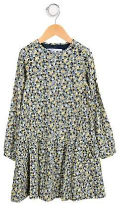 Tartine et Chocolat Girls' Patterned Long Sleeve Dress