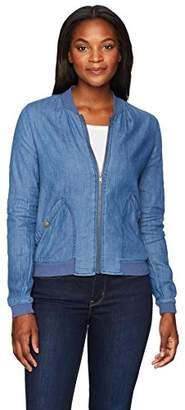 Jason Maxwell Womens Outerwear Women's Soft Bomber Jacket