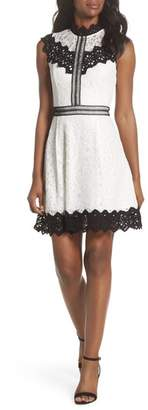 Adelyn Rae Hilda Fit & Flare Dress