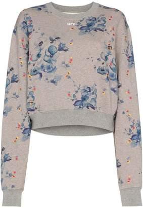 Off-White X Browns Floral Capsule Sweatshirt