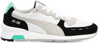 Puma Select Rs-350 Futro Leather & Nylon Sneakers