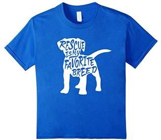 Rescue Dog T-shirt (rescue animals shirt)