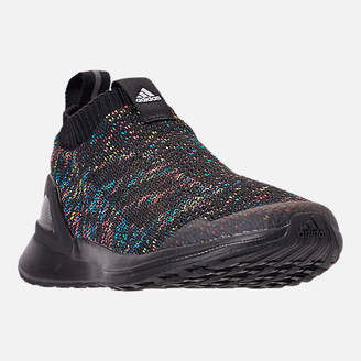 adidas Boys' Big Kids' RapidaRun Laceless Knit Running Shoes