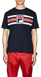 Fila Men's Logo Cotton T-Shirt - Navy