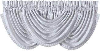 "J Queen New York Carmella 49"" x 33"" Waterfall Swag Window Valance Bedding"