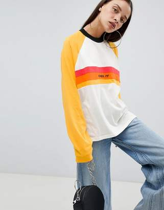 The Ragged Priest long sleeve boyfriend t-shirt with slogan