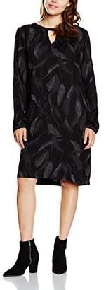 Kaffe Women's 5007 Shirt Long Sleeve Dress - Black