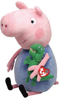 Peppa Pig Ty George Pig Soft Toy