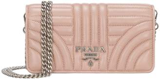 Prada Chain Card Case Wallet