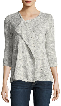 Bobeau Ginger Open-Front Cardigan $45 thestylecure.com