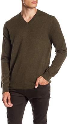 Vince V-Neck Cashmere Pullover Sweater