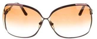Chrome Hearts Fish Eye Oversize Sunglasses