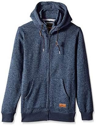 Quiksilver Men's Keller Zip UP Hoodie Jacket