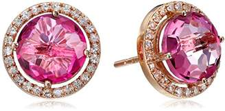 Suzanne Kalan Kalan by Topaz and White Sapphire Post Earrings