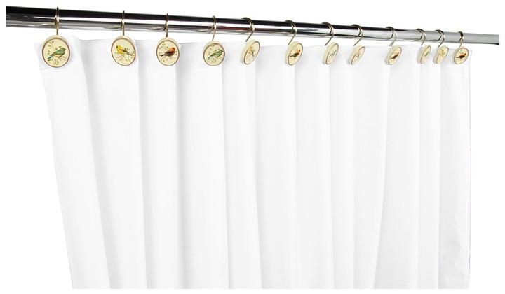 Avanti Gilded Birds Shower Hooks (Ivory) - Home